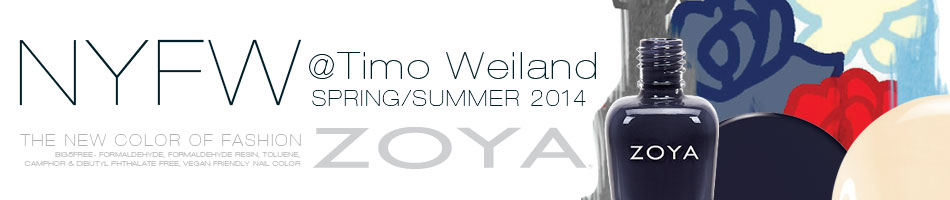 Timo Wiland Spring Summer 2014 Collection Nail Polish Trio