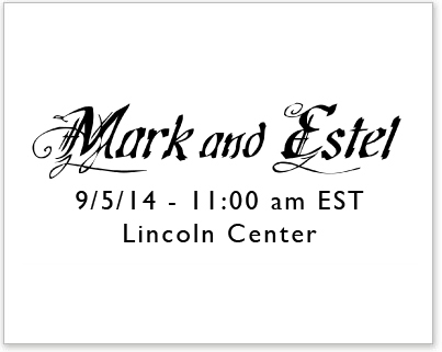 Mark and Estel NYFW SS15