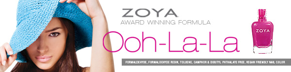 Zoya Ooh-la-la Nail Polish Collection