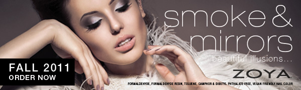Zoya Smoke & Mirrors Collection For Fall 2011 UPDATED