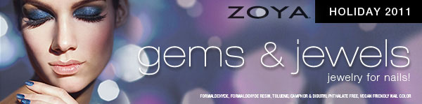 Zoya Gems & Jewels Holiday Nail Polish Collection