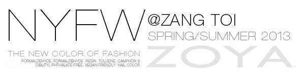 Zang Toi NYFW Spring Summer 2013 Nail Polish Looks