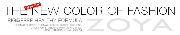 Zoya Nail Polish in Katherine for Fashion Designer Peter Som