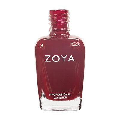 Zoya Nail Polish ZP454  Alix  Red Nail Polish Cream Nail Polish