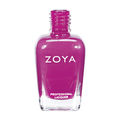 Zoya Nail Polish ZP554  Areej  Purple Nail Polish Cream Nail Polish