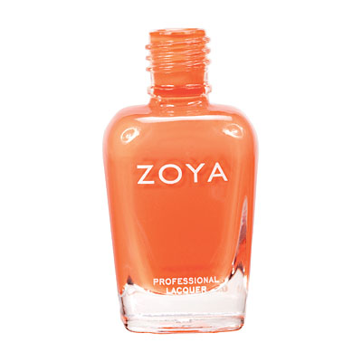 Zoya Nail Polish ZP617  Arizona  Orange Coral Nail Polish Cream Nail Polish