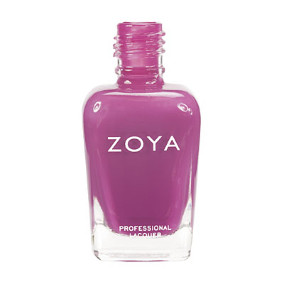 Zoya Nail Polish ZP438  Audra  Purple Nail Polish Cream Nail Polish