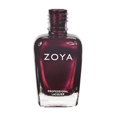 Zoya Nail Polish ZP458  Blair  Red Nail Polish Metallic Nail Polish