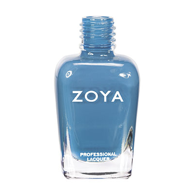 Zoya Nail Polish ZP557  Breezi  Blue Nail Polish Cream Nail Polish