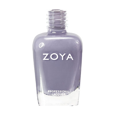 Zoya Nail Polish ZP540  Caitl  Purple Gray Nail Polish Cream Nail Polish