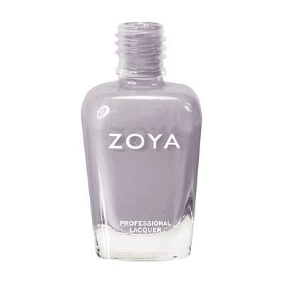 Zoya Nail Polish ZP592  Carey  Gray Purple Greige Nail Polish Cream Nail Polish