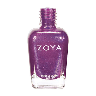 Zoya Nail Polish ZP621  Carly  Purple Nail Polish Foil Nail Polish
