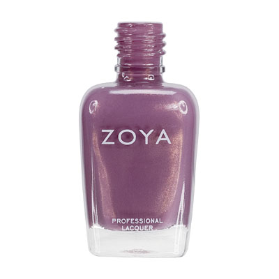 Zoya Nail Polish ZP381  Charity  Purple Nail Polish Metallic Nail Polish