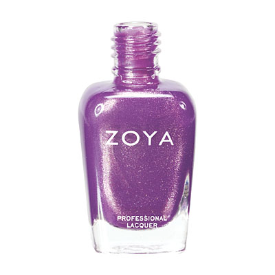 Zoya Nail Polish ZP537  Dannii  Purple Nail Polish Metallic Nail Polish