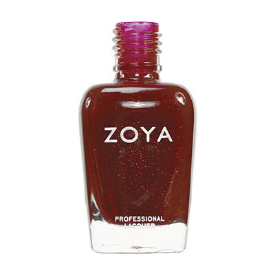 Zoya Nail Polish ZP209  Delilah  Red Nail Polish Metallic Nail Polish