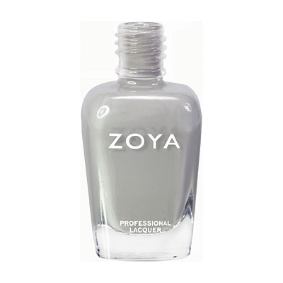 Zoya Nail Polish ZP541  Dove  Gray Nail Polish Cream Nail Polish