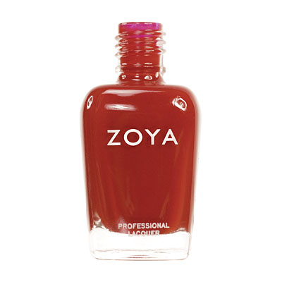 Zoya Nail Polish ZP259  Gia  Red Nail Polish Cream Nail Polish