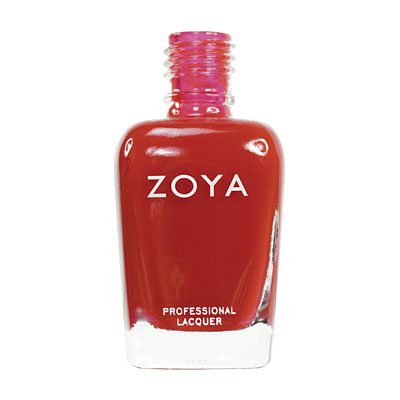 Zoya Nail Polish ZP251  Haley  Red Nail Polish Cream Nail Polish