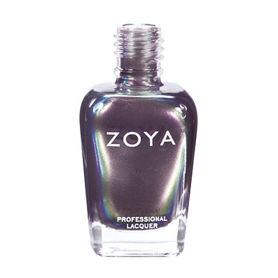 Zoya Nail Polish ZP283  Ki  Purple Nail Polish Metallic Nail Polish