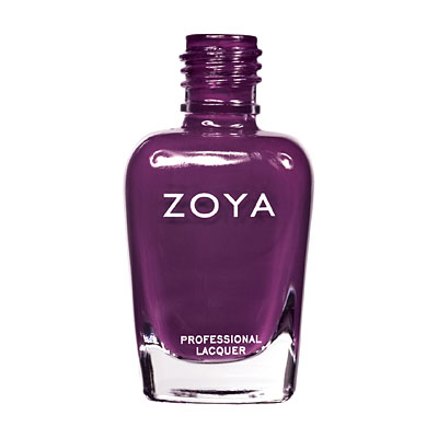 Zoya Nail Polish ZP419  Lael  Purple Nail Polish Cream Nail Polish