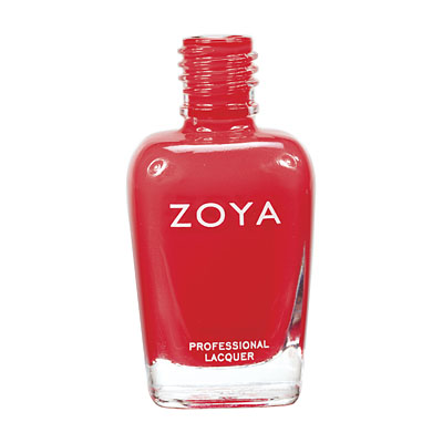 Zoya Nail Polish ZP517  Maura  Red Nail Polish Cream Nail Polish