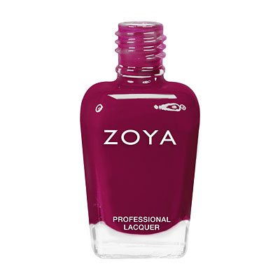 Zoya Nail Polish ZP639  Paloma  Red Burgundy Nail Polish Jelly Nail Polish