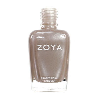 Zoya Nail Polish ZP280  Pasha  Brown Nail Polish Metallic Nail Polish