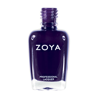 Zoya Nail Polish ZP489  Pta  Purple Nail Polish Cream Nail Polish