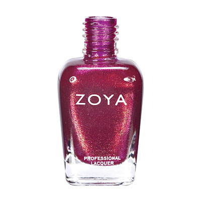 Zoya Nail Polish ZP546  Reva  Red Nail Polish Metallic Nail Polish