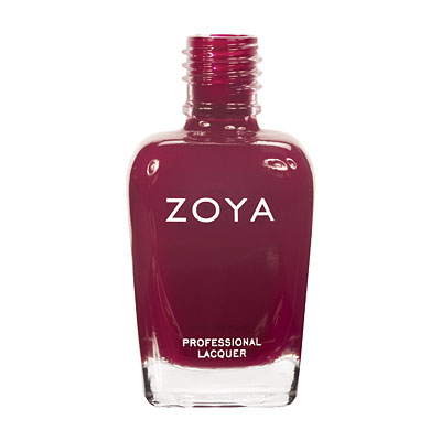 Zoya Nail Polish ZP453  Riley  Red Nail Polish Cream Nail Polish