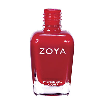 Zoya Nail Polish ZP552  Sooki  Red Nail Polish Cream Nail Polish