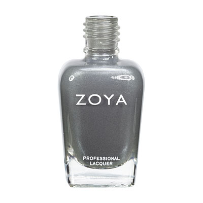 Zoya Nail Polish ZP572  Tao  Gray Nail Polish Metallic Nail Polish