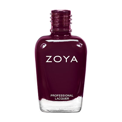 Zoya Nail Polish ZP627  Toni  Purple Plum Burgundy Nail Polish Cream Nail Polish