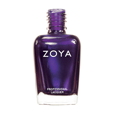 Zoya Nail Polish ZP304  Yasmeen  Purple Nail Polish Metallic Nail Polish