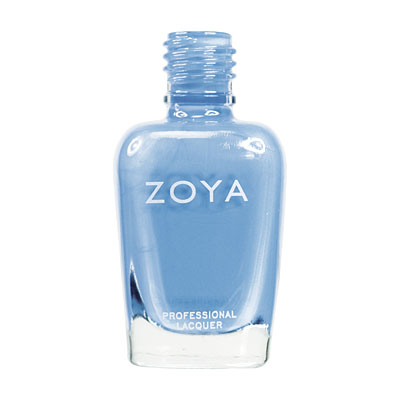 Zoya Nail Polish ZP403  Yummy  Blue Nail Polish Cream Nail Polish