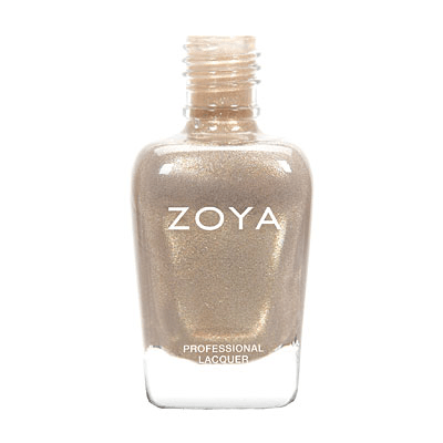 Zoya Nail Polish ZP538  Jules  Gold Nail Polish Metallic Nail Polish