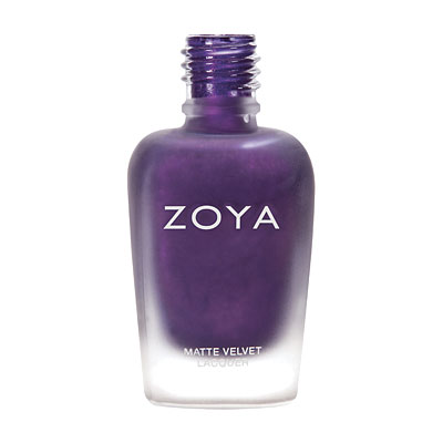 Zoya Nail Polish ZP504  Savita  Purple Nail Polish Metallic Nail Polish