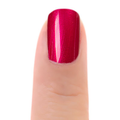 Zoya Nail Polish Rosa ZP1019Painted on Fair Finger Nail (alternate view 2)