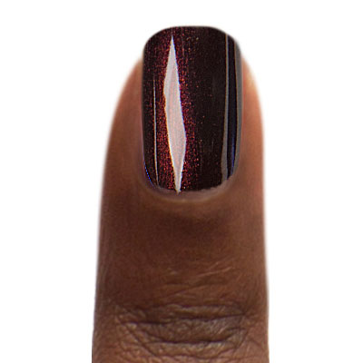 Zoya Nail Polish Sedona ZP1021 Painted on Dark Tone Finger (alternate view 4 full size)