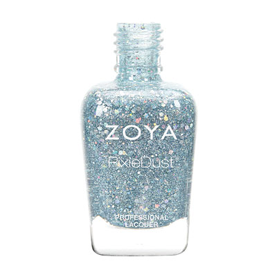 Zoya Nail Polish - Vega - Magical PixieDust - Textured - ZP718 - Blue, Cool