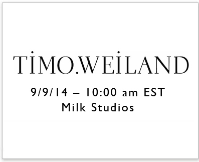 Timo Weiland NYFW SS15