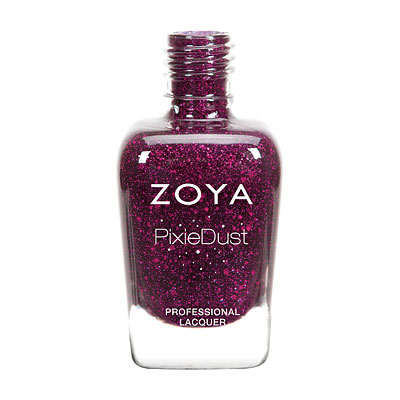 Zoya Nail Polish - Noir Ultra PixieDust - Textured - ZP765 - Red, Cool