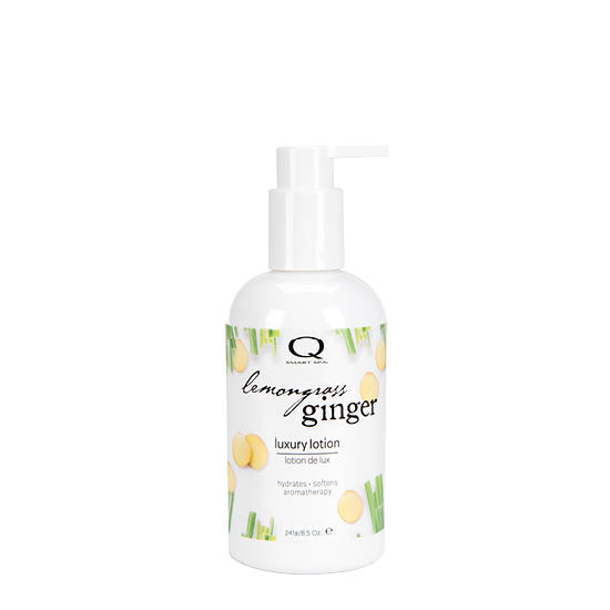 Lemongrass Ginger Luxury Lotion 8.5oz by Smart Spa