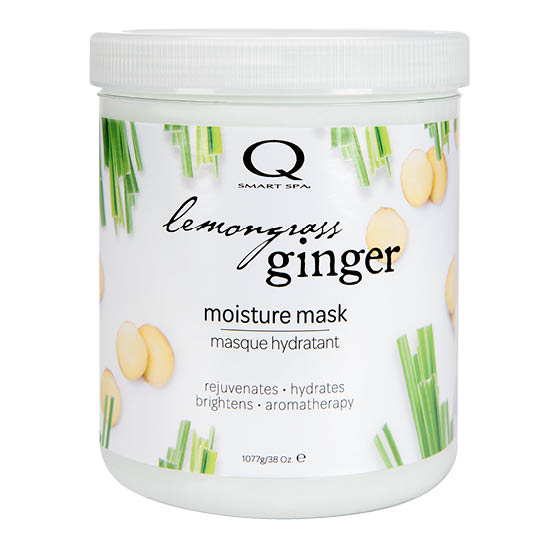Lemongrass Ginger Moisture Mask 38oz by Smart Spa