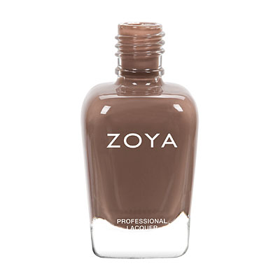 Zoya Nail Polish - Chanelle - ZP743 - Nude, Brown, Cream, Cool