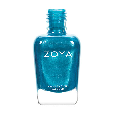 Zoya Nail Polish - Oceane - ZP792 - Blue, Metallic, Cool