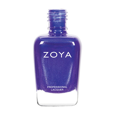 Zoya Nail Polish - Isa - ZP793 - Blue, Purple, Metallic, Cool