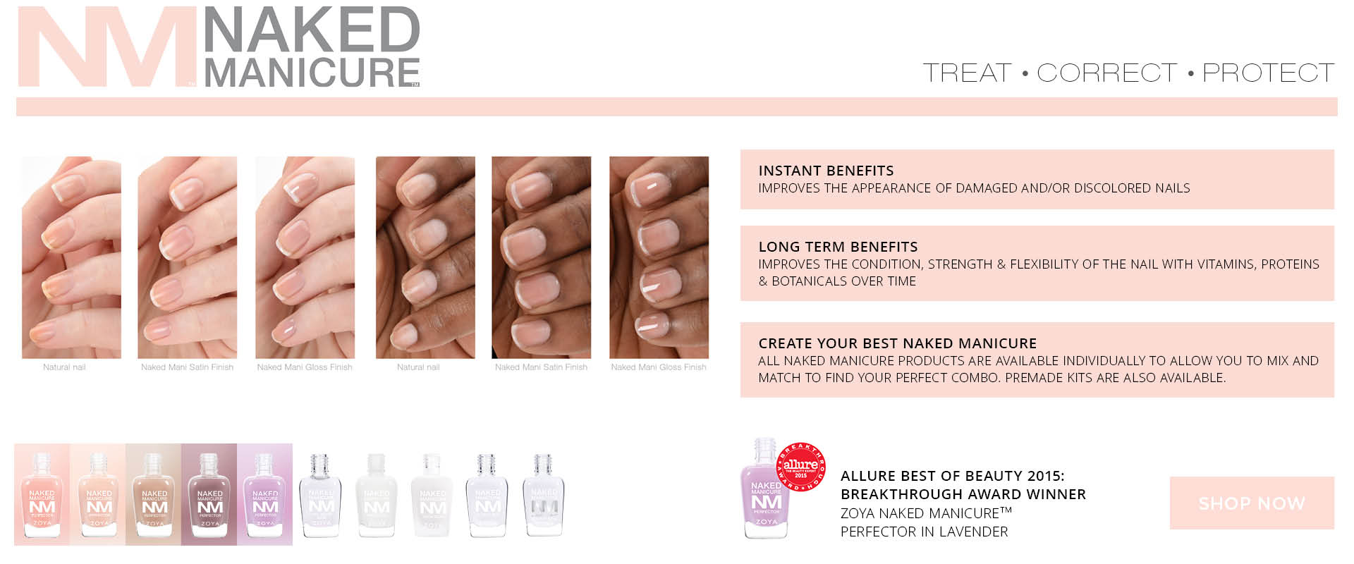 naked manicure home page