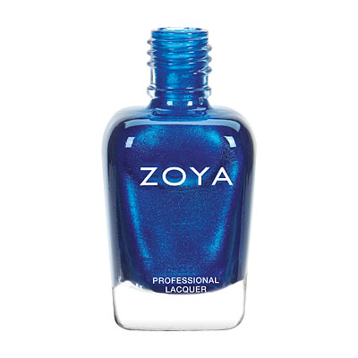Zoya Nail Polish - Estelle - ZP808 - Blue, Metallic, Cool