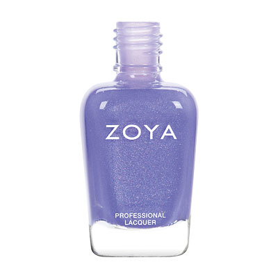 Zoya Nail Polish - Aster - ZP836 - Blue, Purple, Violet, Metallic, Cool